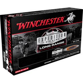 Winchester Expedition Big Game Long Range Rifle Ammuniton 6.5 PRC 142 gr ABLR 20/ct