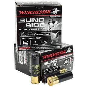 "Winchester Blind Side 12 ga 3"" 1-1/8 oz #2 25/Box"