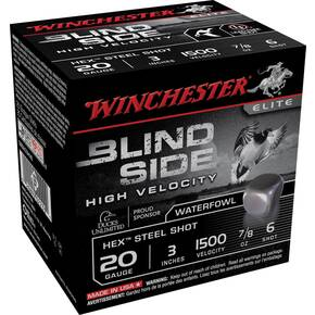 "Winchester Blind Side 12 ga 3"" 7/8 oz #6 25/Box"