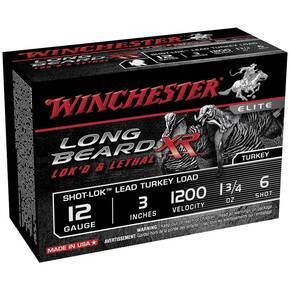 "Winchester Long Beard XR Shotshells 3"" 1-3/4 oz #6 10/Box"