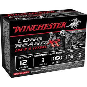 "Winchester Long Beard XR Shotshells 12ga 3"" #5 1 7/8oz 10rd"