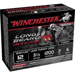 "Winchester Long Beard XR Shotshells 3-1/2"" 2 oz #6 10/Box"