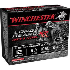 "Winchester Long Beard XR Shotshells 12ga 3 1/2"" #5 2 1/8oz 10rd"