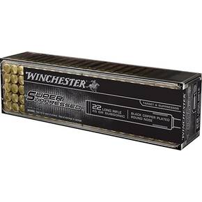 Winchester Super Suppressed Rimfire Ammunition .22 LR 45 gr LRN 1090 fps 100/ct