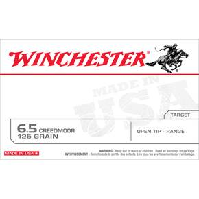 Winchester USA Rifle Ammunition 6.5 Creedmoor 125 gr OT 20/ct
