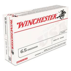 Winchester USA Rifle Ammunition 6.5 Creedmoor 125gr OT 2850 fps 60/ct (Value Pack)