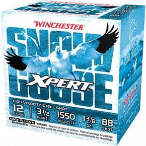 "Winchester Xpert Snow Goose Shotshell 12 ga 3.5"" 1-3/8 oz 1550 fps 25/ct"