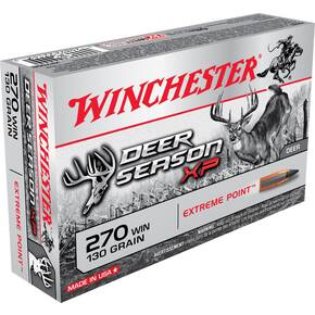 Winchester Deer Season XP 270 Win 130gr Extreme Point Polymer Tip 20 rds