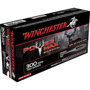 Winchester Super-X Power Max Bonded Rifle Ammunition .300 WSM 180 gr PHP 2970 fps - 20/box