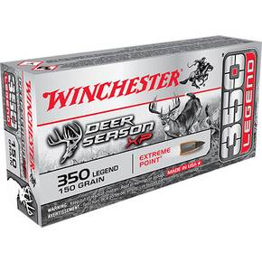 Winchester Deer Season XP .350 Legend 150 grain JHP 2325 fps 20/ct