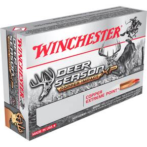 Winchester Deer Season XP Copper Impact Rifle Ammunition .350 Legend 150 gr CEP 20/ct