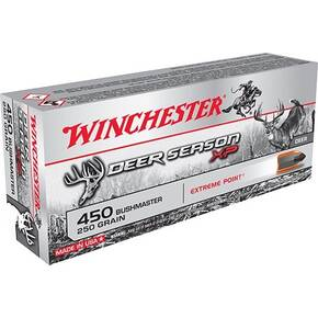 Winchester Deer Season XP  Rifle Ammunition .450 Bushmaster 250 gr PT 20/ct