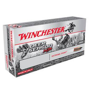 Winchester Deer Season XP Rifle Ammunition 7.62x39mm 123 gr Extreme Point 2380 fps 20/ct