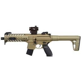 Sig Sauer Airgun MPX  .177 Cal 88gr CO2 30 rd FDE w/ SIG 20R Red Dot Optics