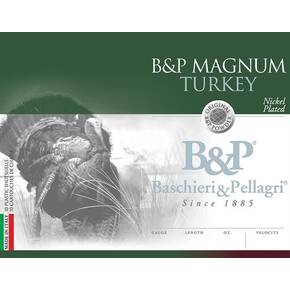 "B&P Magnum Turkey Shotshells 12 ga 3"" 1-3/4oz  1250 fps #6 10/ct"
