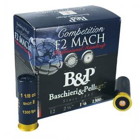 B&P Professional Handicap Shotshells- 12 ga 2-3/4 In 7/8 oz #7.5 1365 fps 25/ct