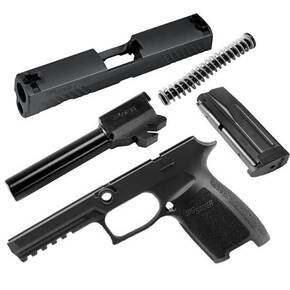 Sig Sauer Caliber X-Change Kit P320 / P250 Full 9mm Black 17/rd Magazine