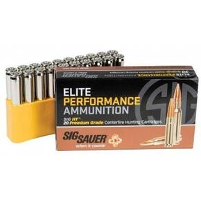 Sig Sauer Elite Hunting Rifle Ammunition 6.5mm Creedmoor 120 gr HT 20/ct
