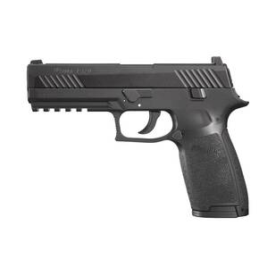 Sig Sauer P320 .177 cal CO2-Powered ASP Pistol w 30/rd Belt Magazine 12 Gram CO2 Cartridge - Black
