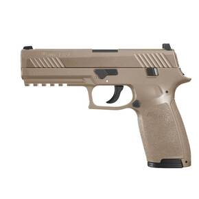 Sig Sauer P320 .177 cal CO2-Powered ASP Air Pistol w 30/rd Belt Magazine 12 Gram CO2 Cartridge - Coyote