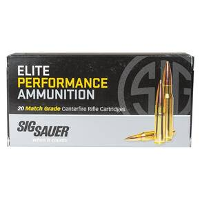 Sig Sauer Elite Match Rifle Ammunition .308 Win 175gr OTM 20/ct