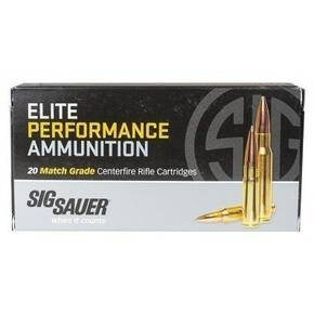Sig Sauer Elite Match Rifle Ammunition 6.5mm Creedmoor 140 gr OTM 20/ct