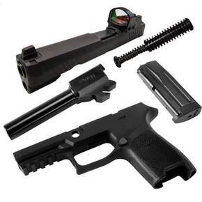 Sig Sauer Caliber X-Change Kit P320 / P250 Compact RX 9mm Black 15/rd Magazine