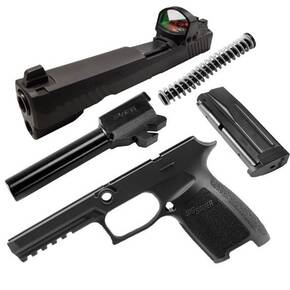 Sig Sauer Caliber X-Change Kit P320 / P250 Full RX 9mm Black 17/rd Magazine