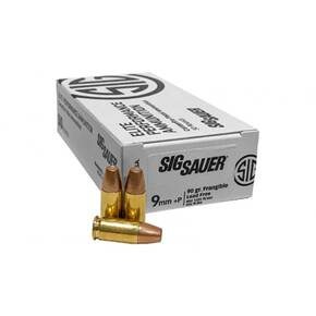 Sig Sauer Lead Free Frangible Handgun Ammunition 9mm(+P) 90gr LF 50/ct