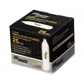 Sig Sauer CO2 Cartridge 12gr 25/ct