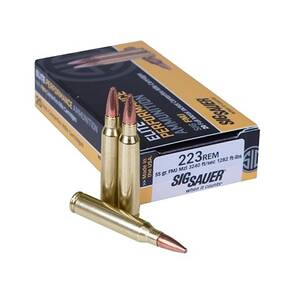 Sig Sauer Elite Performance Rifle Ammunition .223 Rem 55gr FMJ 3240 fps 20/ct