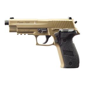 Sig Sauer P226 Airgun Package includes Pistol Case / Trap / Trap Paper, Pellets & CO2 - Flat Dark Earth