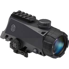 DEMO Sig Sauer BRAVO4 Prismatic QR Battle Sight - 4x30mm .300 Blackout Horseshoe Dot Illum 0.5 MOA Graphite