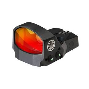 DEMO Sig Sauer ROMEO1 Reflex Sight 1x30mm 3 MOA Red Dot 1.0 MOA Handgun Adapter Pack Black