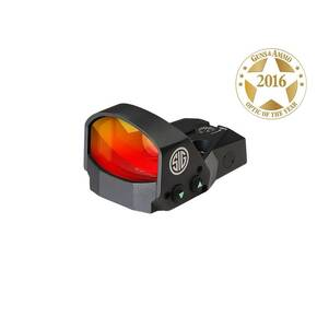 Sig Sauer ROMEO1 Mini Reflex Sight - 1x30mm 3 MOA Red Dot Reticle Black