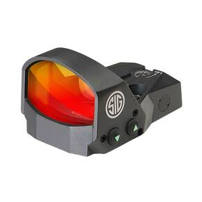 Sig Sauer ROMEO1 Miniature Reflex Sight with M1913 Rail Interface - 1x30mm 3 MOA Red Dot Reticle Graphite