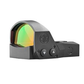 Sig Sauer Romeo1PRO Open-Reflex Red Dot Sight 1x30mm 3 MOA 1.0 MOA Adj  Steel Shroud - Black