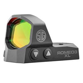 Sig Sauer Romeo3 Max Reflex Sight 1x35mm 6MOA 1.0MOA Adjust M1913 - Black