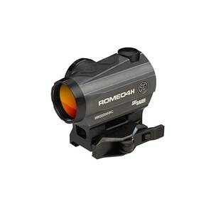 Sig Sauer ROMEO4H Red Dot Sight - 1x30mm 1 MOA Red Dot Ballistic CirclePlex Reticle Graphite