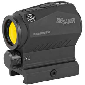 Sig Sauer ROMEO5 X Compact Red Dot Sight - 1x20mm 2 MOA Red Dot Reticle 0.5 MOA Adj. AAA Black