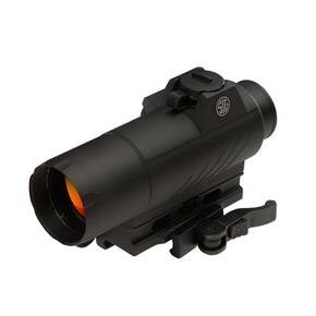Sig Sauer ROMEO7 Full SIze Red Dot Sight - 1x30mm 2 MOA Red Dot Reticle M1913 Rail IF Black