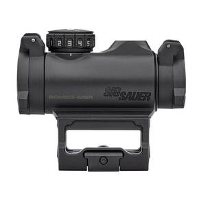 Sig Sauer ROMEO-MSR Compact Red Dot Sight 1x20mm 2 MOA Red Dot 1.0 MOA ADJ M1913 Black