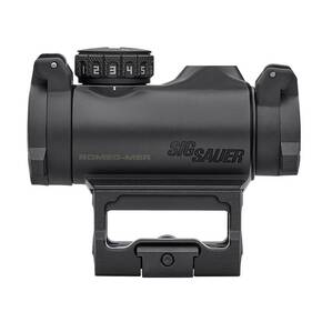 Sig Sauer Romeo-MSR Compact Red Dot Sight 1x20mm 2MOA Red Dot 1.0MOA adj M1913 - Black