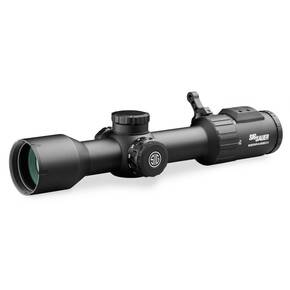 Sig Sauer SIERRA6BDX Rifle Scope - 2-12x40mm 30mm BDX-R2 Digital Ballistic Reticle - Black