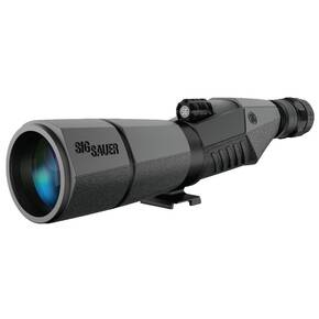 Sig Sauer Oscar5 Spotting Scope - 15-45x56mm Straight Eyepiece Graphite