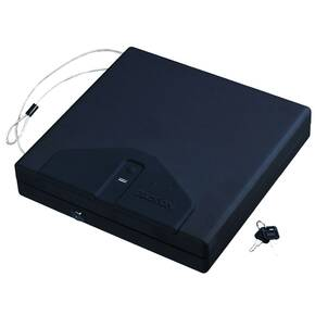 "Stack-On Personal Portable Security Case with Biometric Lock - 12-1/8""x12-1/2""x2-5/8"