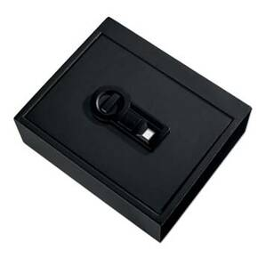 Stack-On Drawer Safe w/Biometric Lock-Black