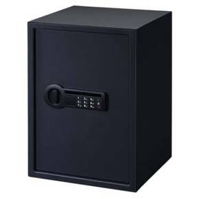 Stack-On Extra Large Personal Safe with Electronic Lock and 2 Shelves-Black