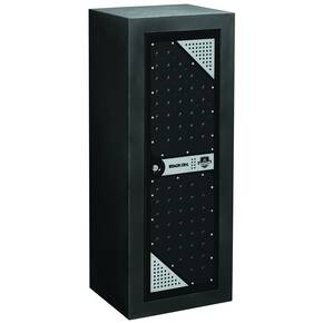 Stack-On Tactical 16-Gun Cabinet - Black/Silver