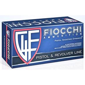 Fiocchi Handgun Ammunition 10mm Auto 180gr FMJTC 1250 fps 50/ct
